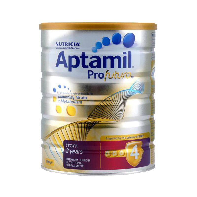 澳洲爱他美白金版Aptamil婴幼儿配方奶粉 4段(2岁以上)900g